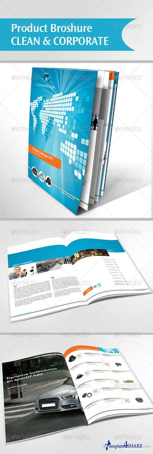 GraphicRiver Clean & Corporate Product Brochure