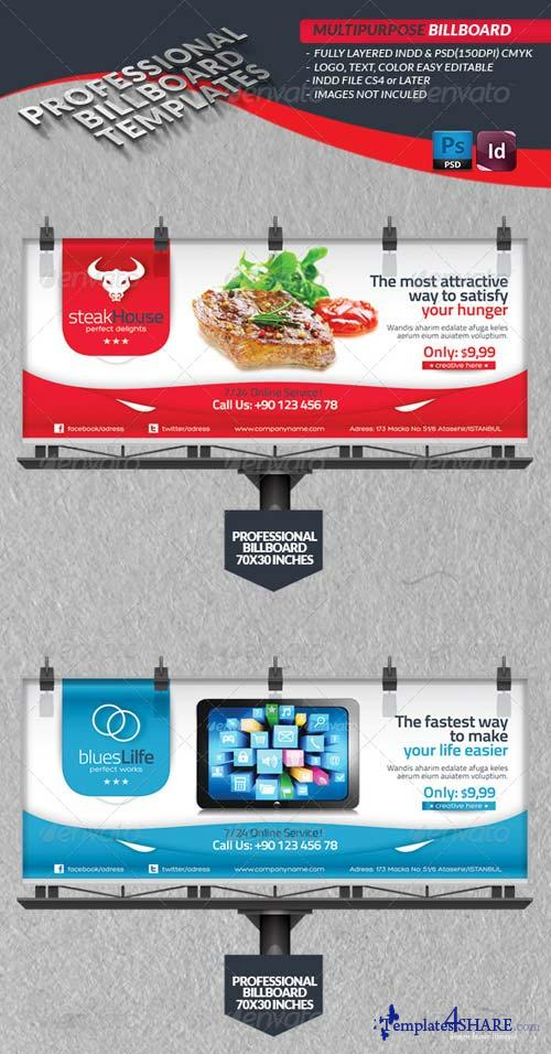 GraphicRiver Multipurpose Billbord Template