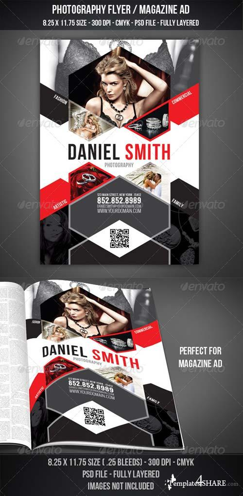 GraphicRiver Photography Flyer / Magazine AD