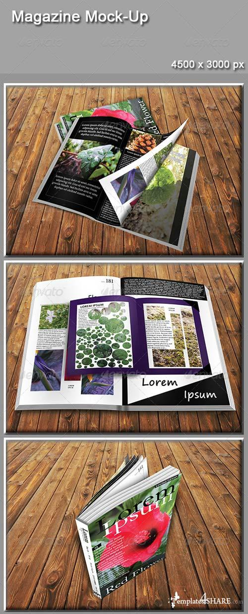 GraphicRiver Magazine Mock-Up