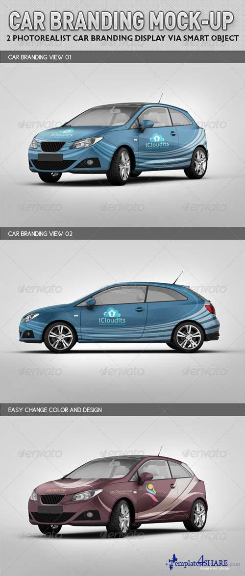 GraphicRiver Car Branding Mock-up