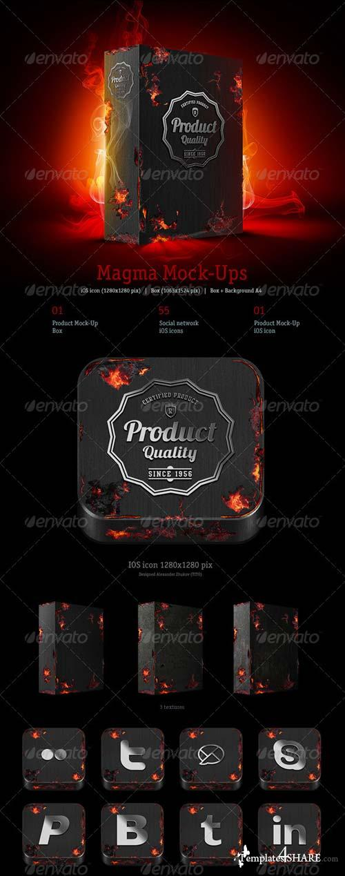 GraphicRiver Magma Mock-ups Pack