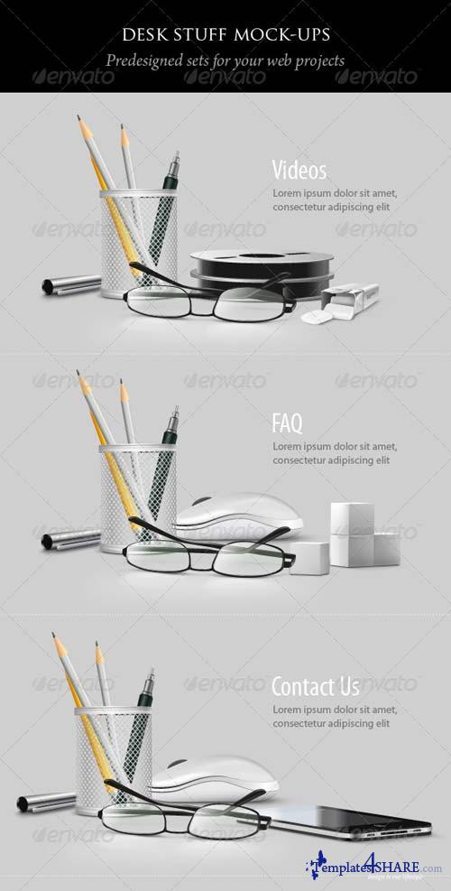 GraphicRiver Desk Stuff