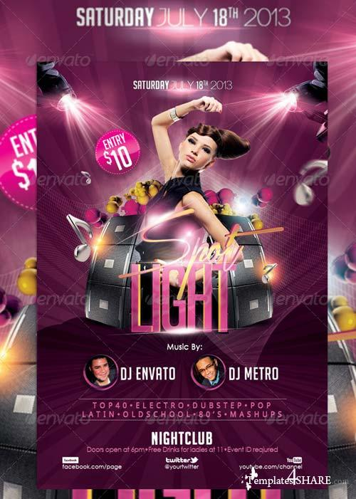 GraphicRiver Ritmo Latino Flyer