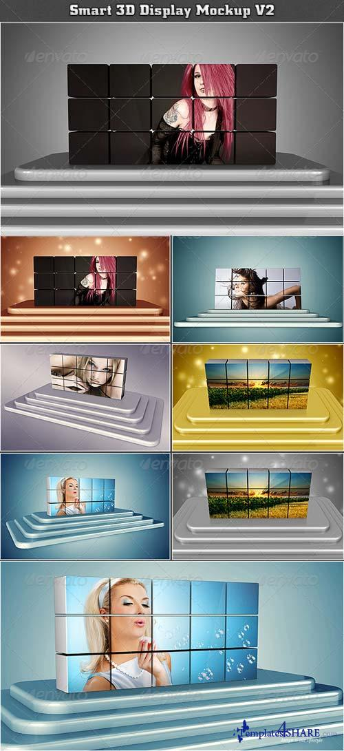 GraphicRiver Smart 3D Display Mockup V2