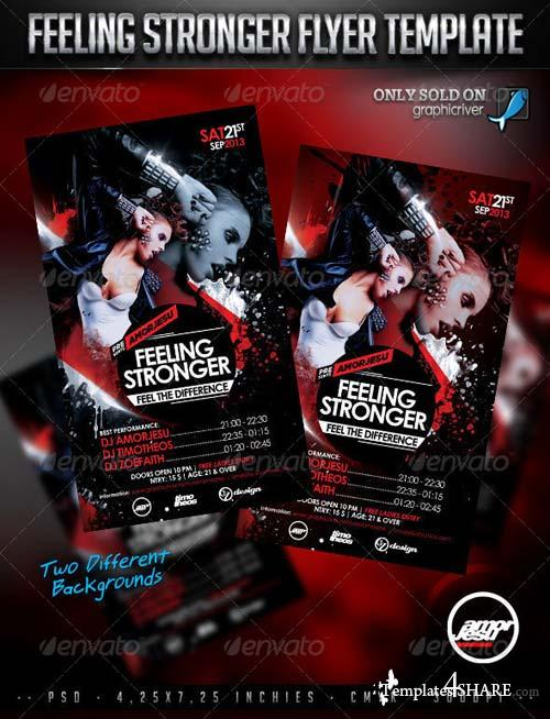 GraphicRiver Feeling Stronger Flyer Template