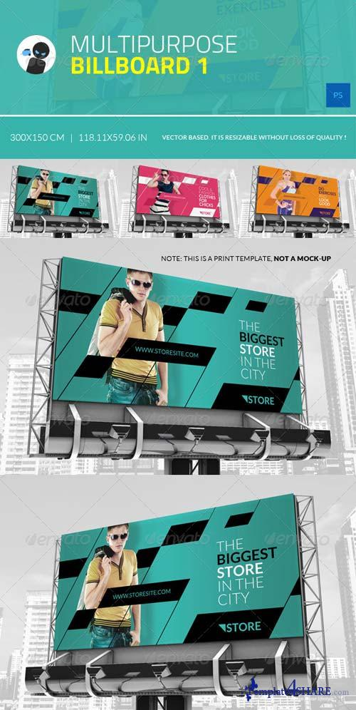 GraphicRiver Multipurpose Billboard 1