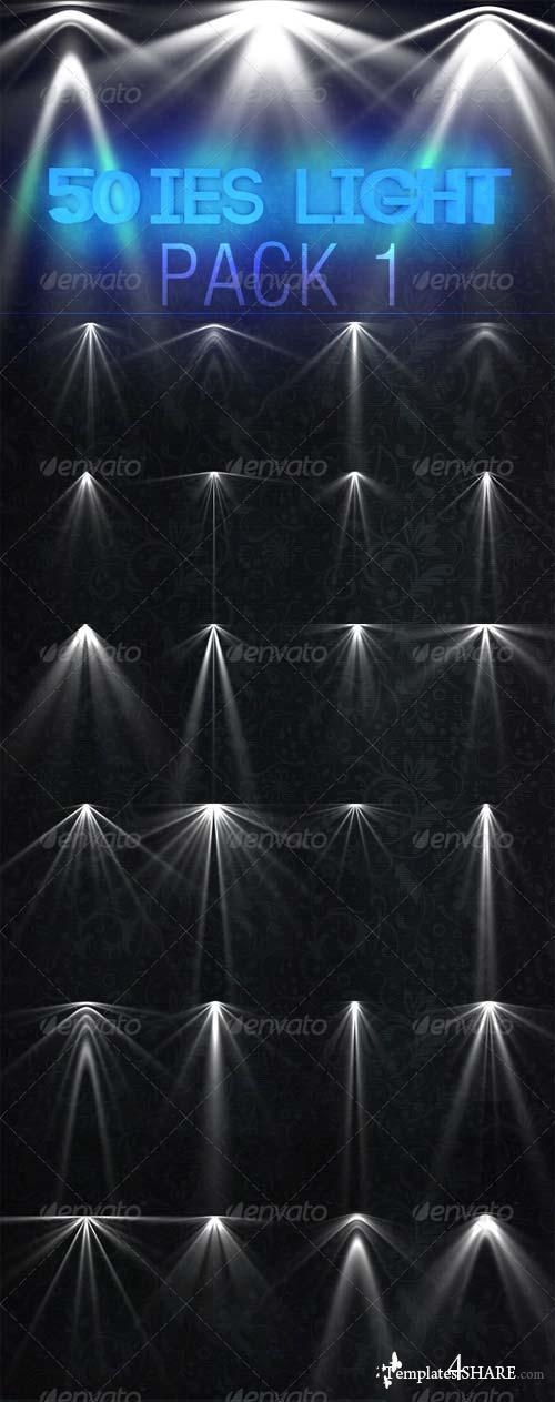 GraphicRiver 50 IES Light