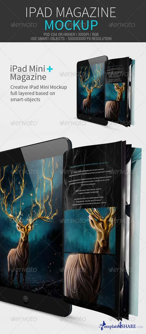 GraphicRiver iPad Magazine Mockup