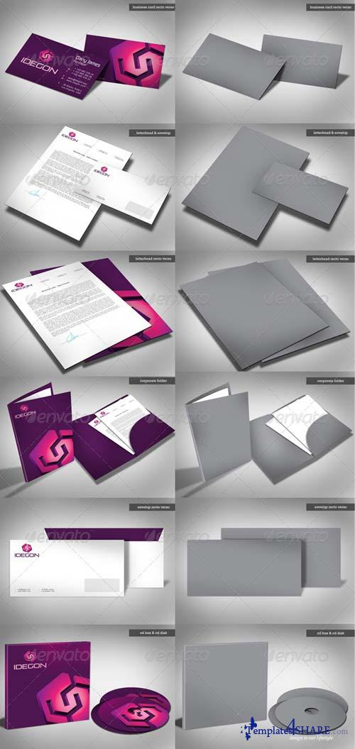 GraphicRiver Full Corporate Identity Mockup Package