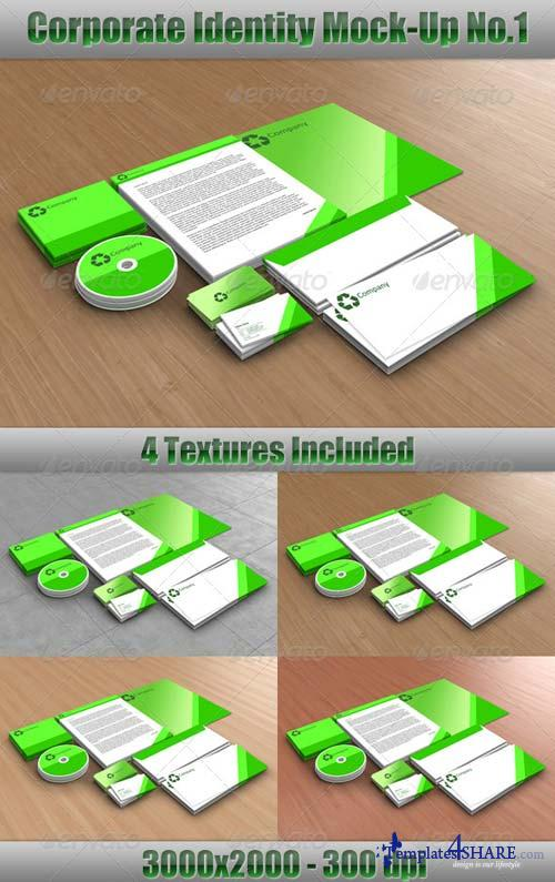 GraphicRiver Corporate Identity Mock-Up No.1