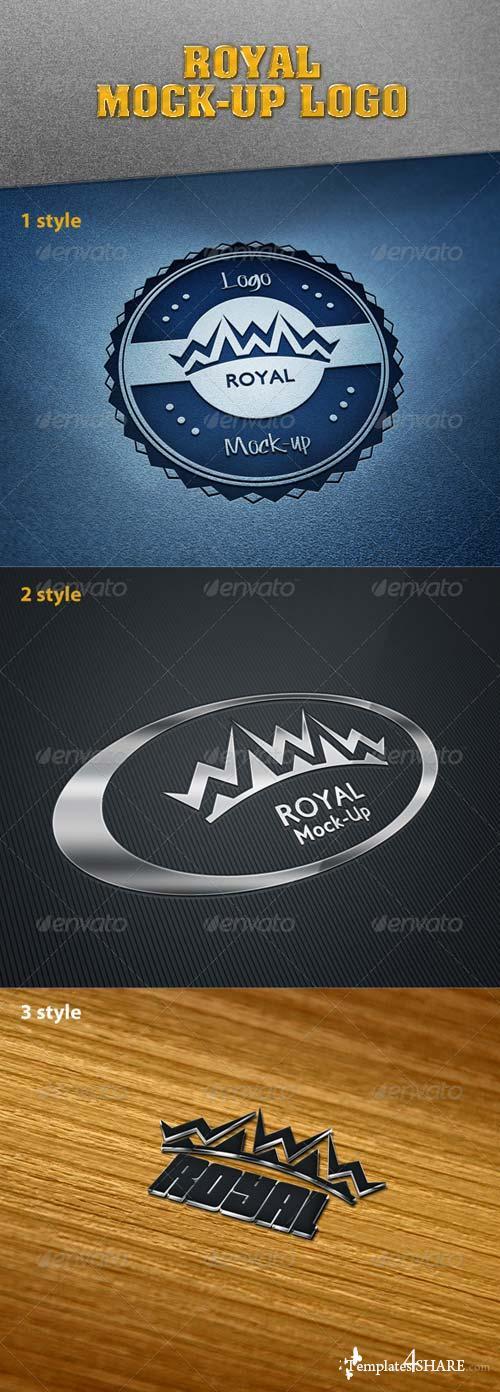 GraphicRiver Royal Mock-Up Logo