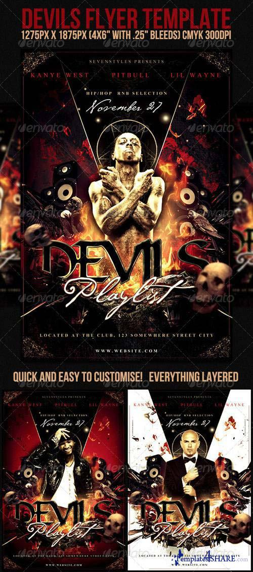 GraphicRiver Devils Flyer Template