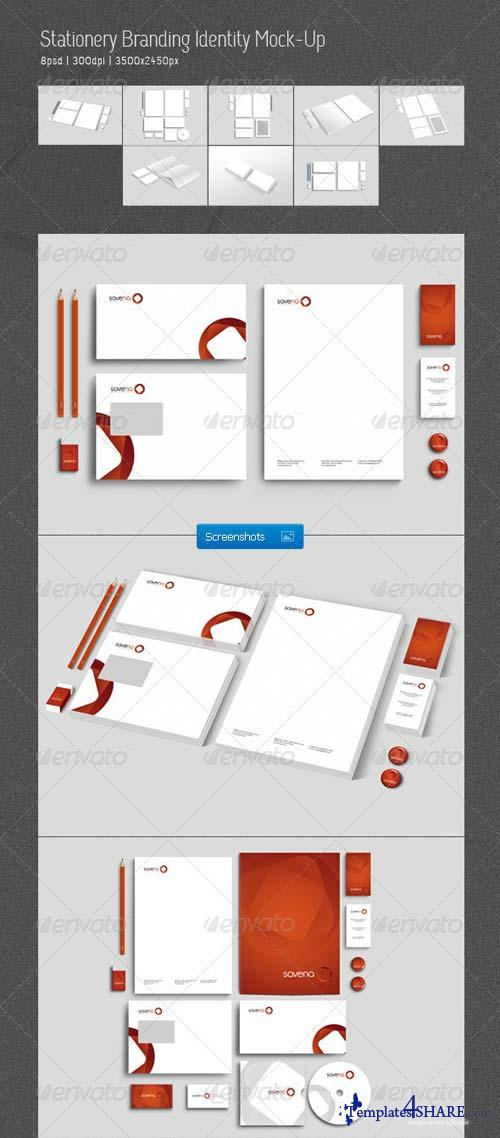 GraphicRiver Stationery Branding Identity Mock-Up