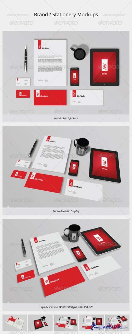 GraphicRiver Brand / Stationery Mockups