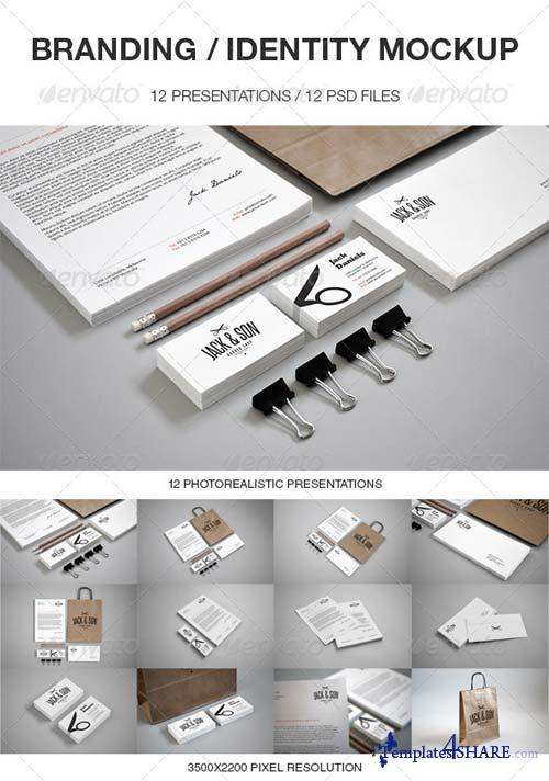 GraphicRiver Branding / Identity Mockup 4239103