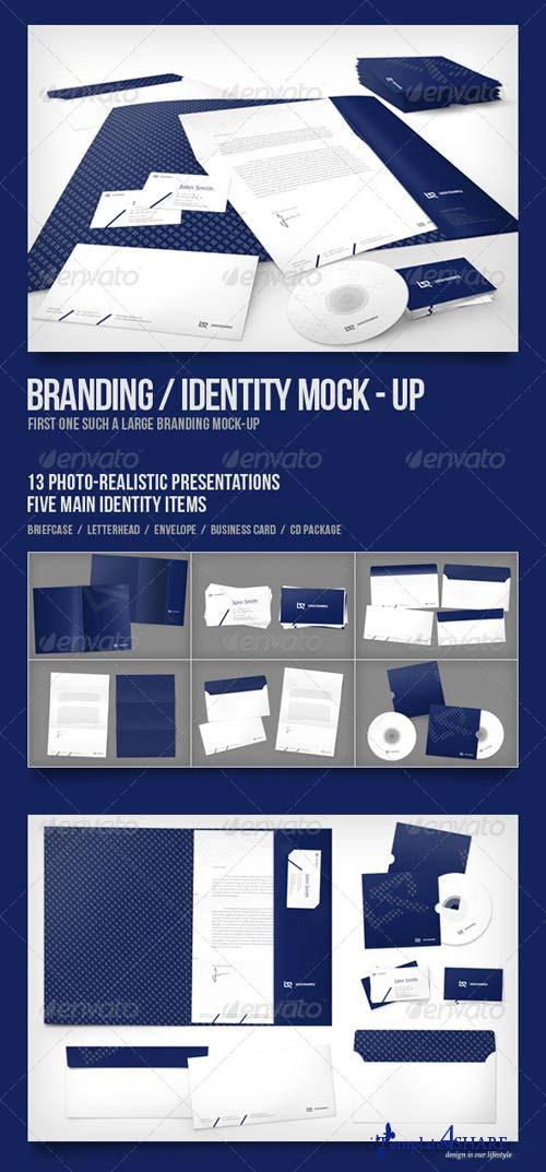 GraphicRiver Branding/Identity Mock-up 2319067