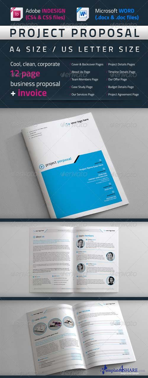 GraphicRiver Project Proposal Template