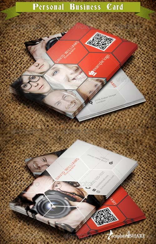 GraphicRiver Photographer Business Card 01