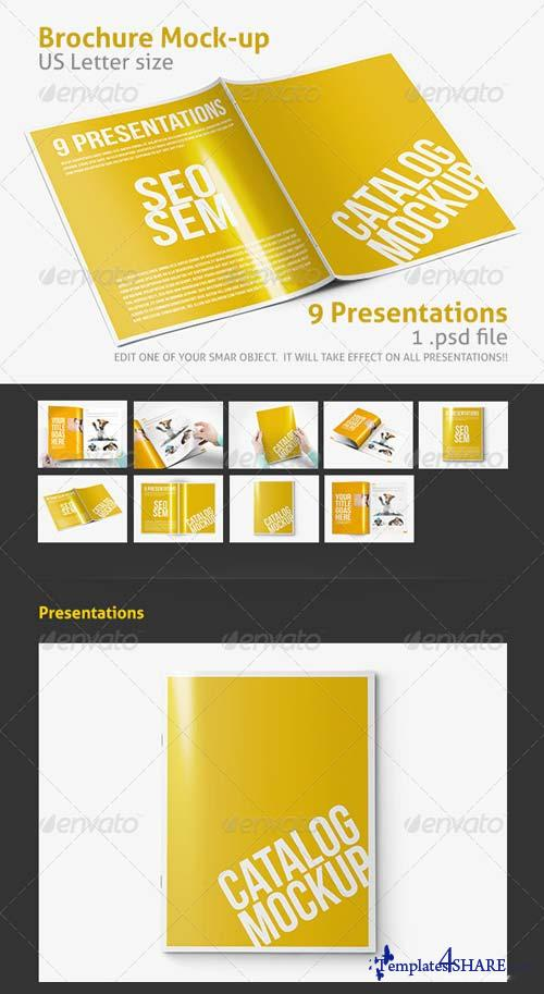 GraphicRiver Photorealistic Brochure / Catalog Mockup