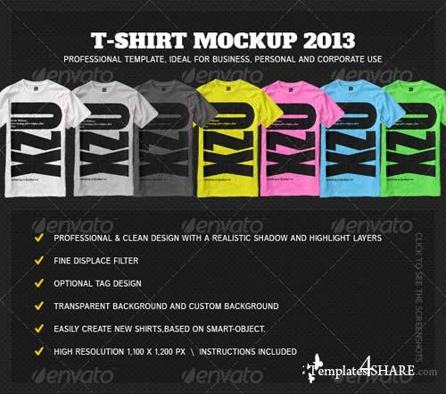 GraphicRiver T-Shirt Mock Up 2013