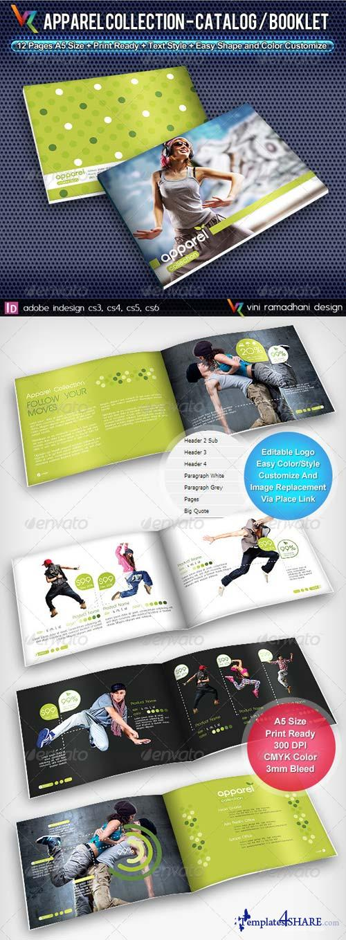 GraphicRiver Apparel Collection Catalog/Brochure