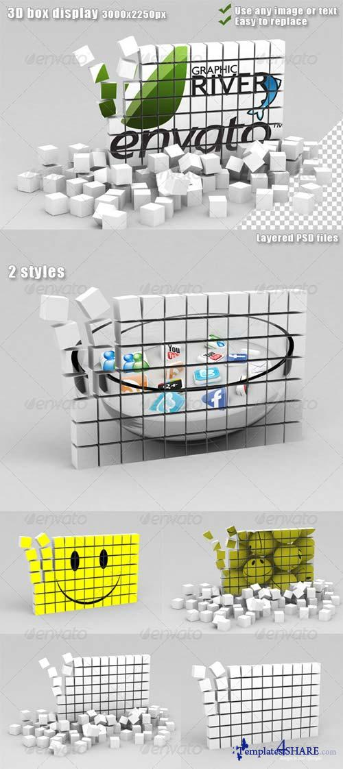 GraphicRiver 3D Box Display