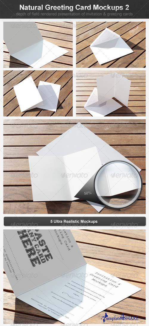 GraphicRiver Natural Greeting Card Mockups 2