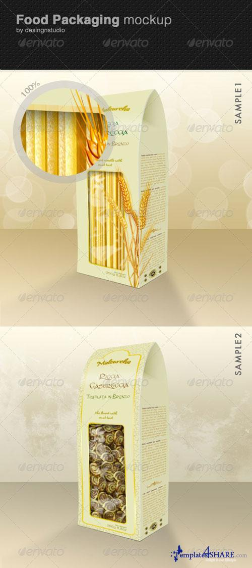 GraphicRiver Food Packaging Mock-Up