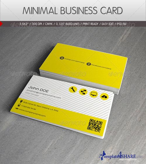GraphicRiver Minimal Business Card