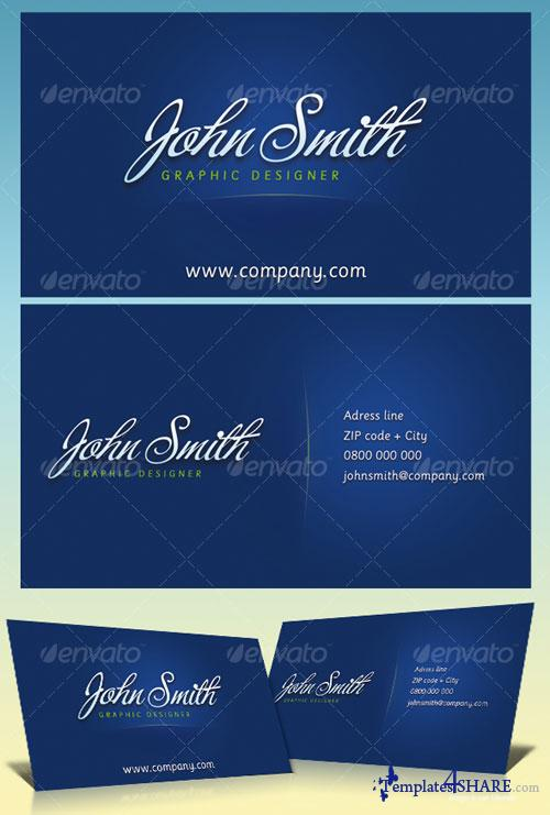 GraphicRiver JS Business Cards