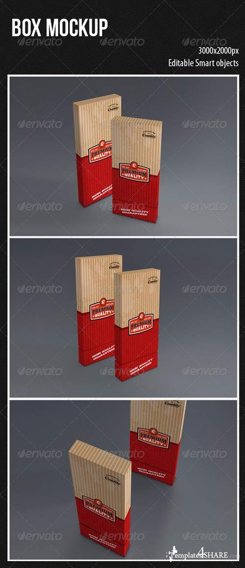 GraphicRiver Box Mockup 4399561