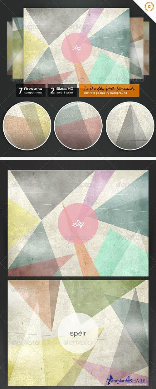 GraphicRiver In The Sky With Diamonds - Abstract Backgrounds
