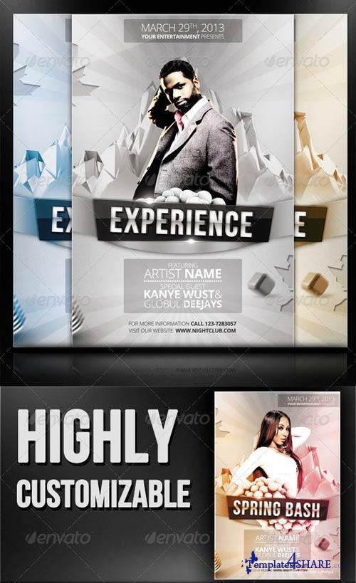 GraphicRiver Experience - Flyer/Poster Template