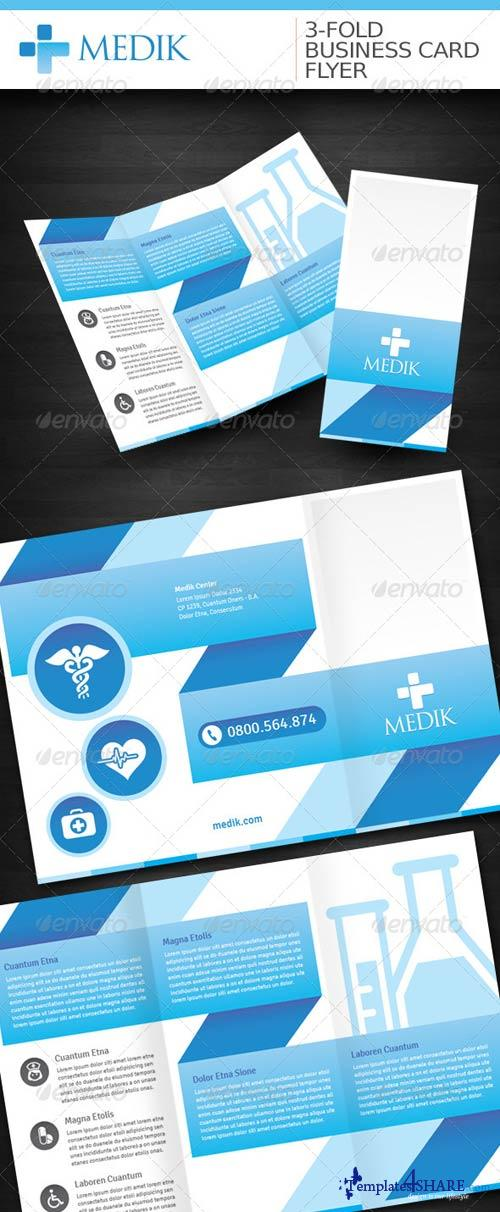 GraphicRiver Medik 3-Fold/Business Card/Flyer