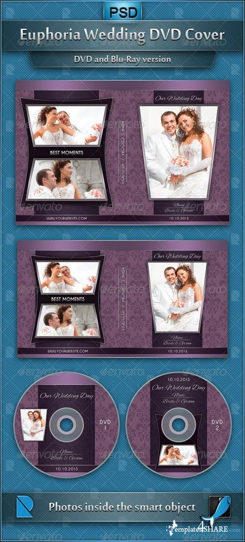 GraphicRiver Euphoria Wedding DVD Cover