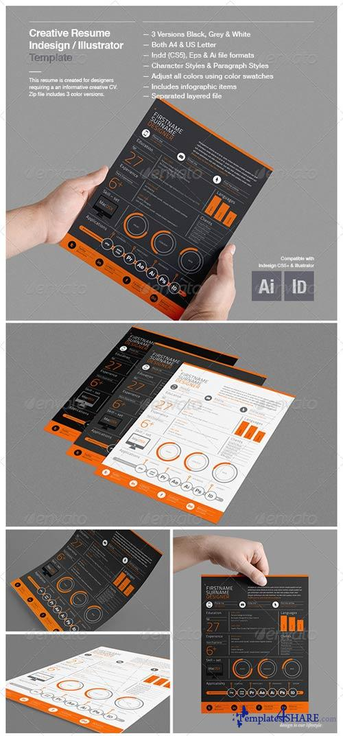 GraphicRiver Creative Resume Template