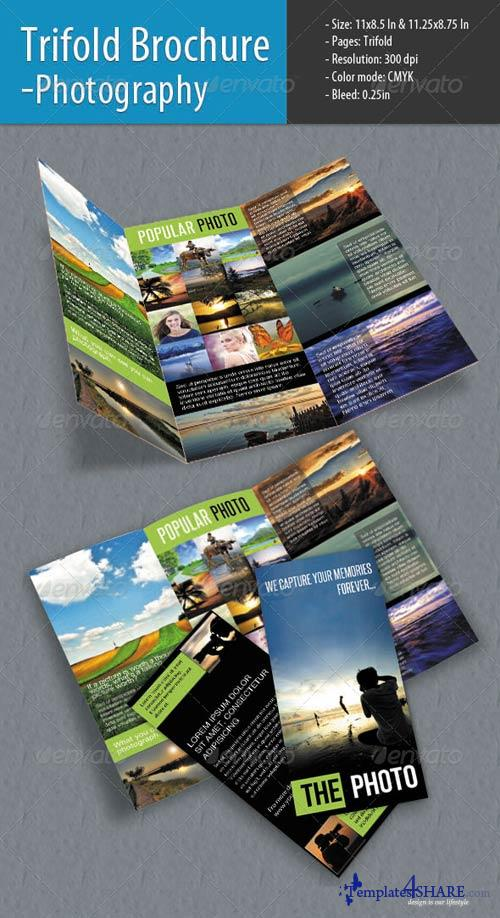GraphicRiver Trifold Brochure For Photography