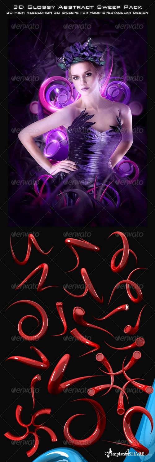 GraphicRiver 3D Abstract Sweep Collection