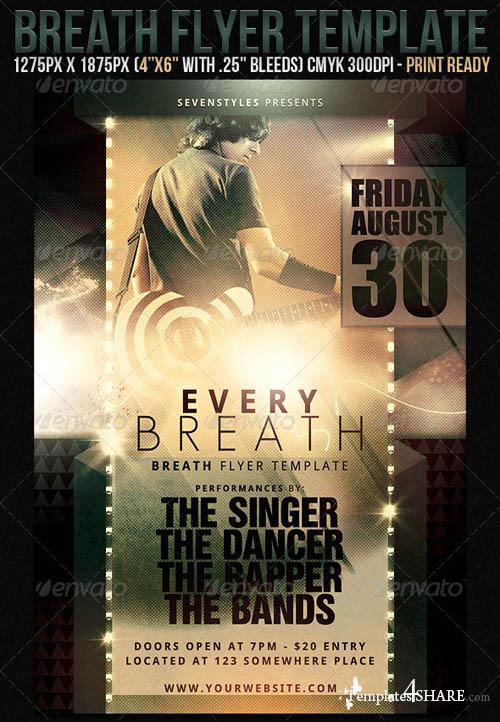 GraphicRiver *Breath Flyer Template*