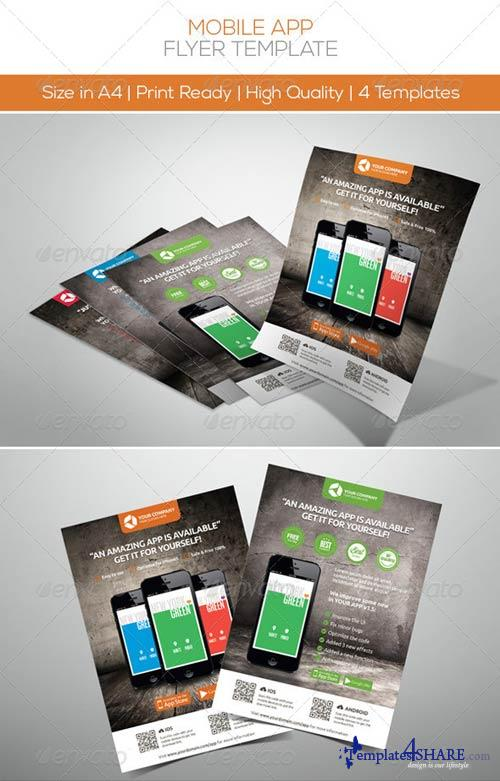 GraphicRiver Mobile App Promotion Flyers