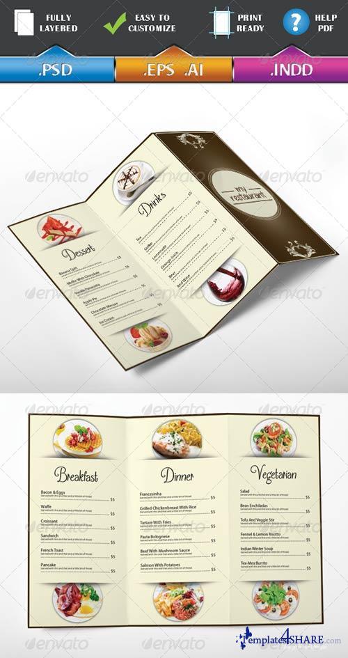 GraphicRiver Restaurant Menu Vol 1