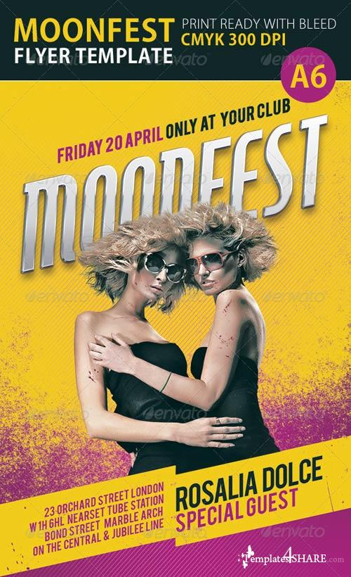 GraphicRiver Moonfest Flyer Template
