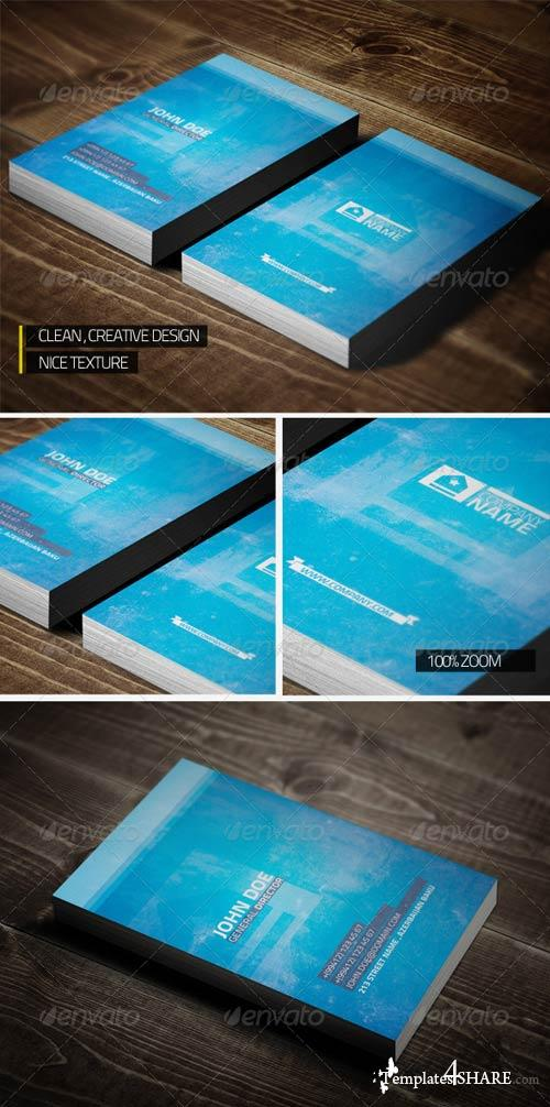 GraphicRiver Sleek Modern Business Card