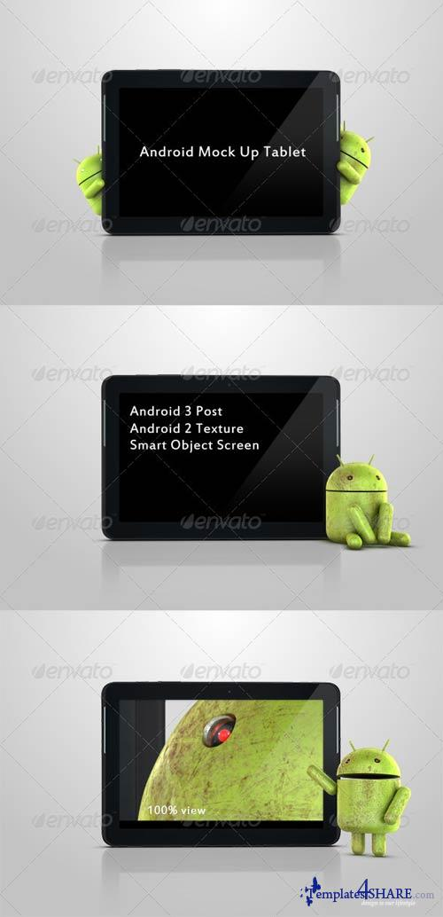 GraphicRiver Android Mock Up Tablet