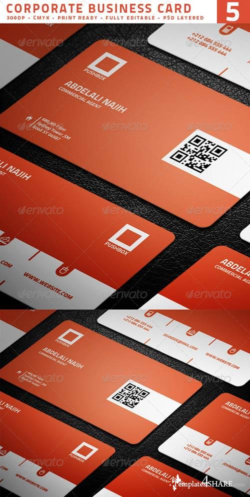 GraphicRiver Corporate Business Card 5
