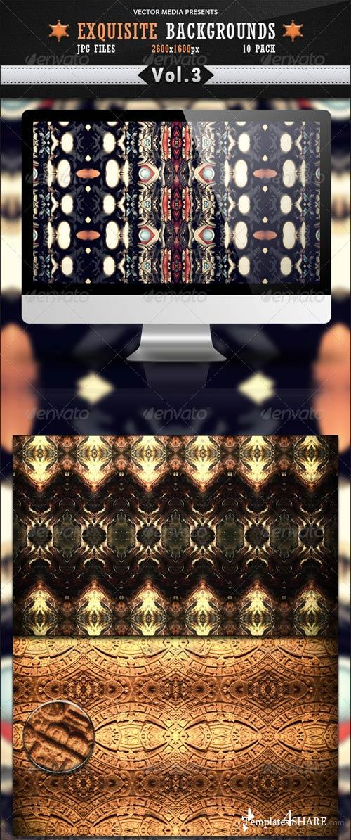 GraphicRiver Exquisite Backgrounds - Vol 3