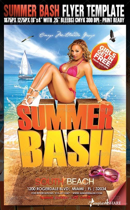 GraphicRiver Summer Bash Flyer