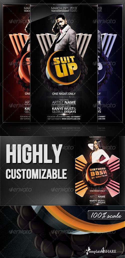 GraphicRiver Suit Up - Flyer/Poster Template