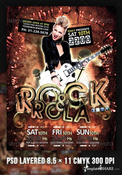 GraphicRiver Name: Rock And Rola